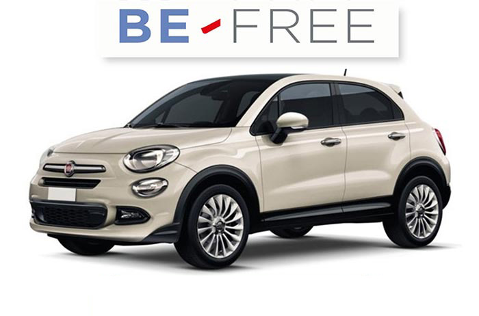noleggio auto lungo termine fiat 500x city look 4x2 pop star be free velsus. Black Bedroom Furniture Sets. Home Design Ideas